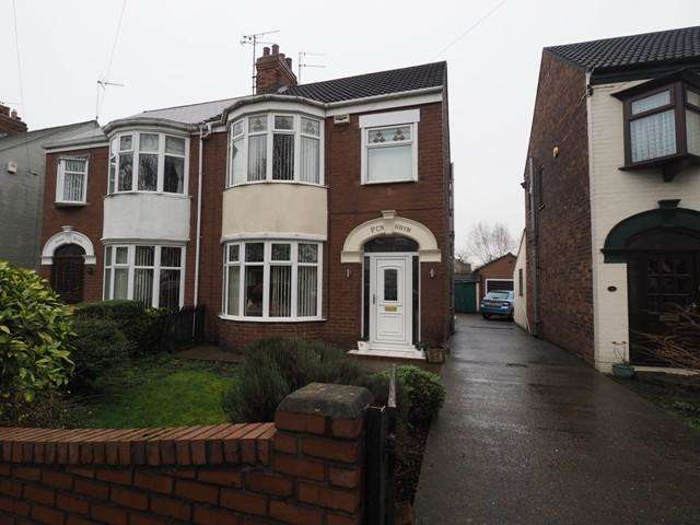 3 Bedrooms Semi Detached House for sale in Gillshill Road, Hull, HU8 0LE