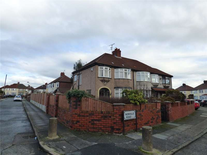 3 Bedrooms Semi Detached House for sale in Norville Road, Liverpool, Merseyside, L14