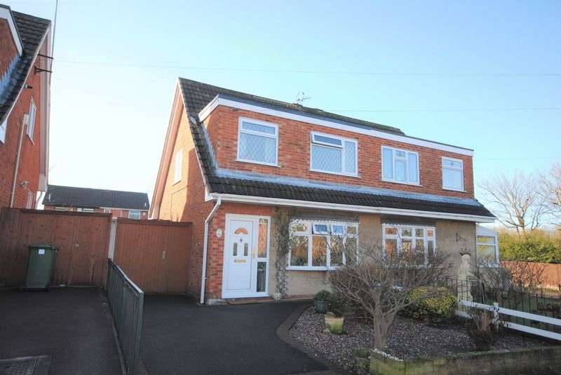 3 Bedrooms Semi Detached House for sale in Curlew Avenue, Saughall Massie, Upton