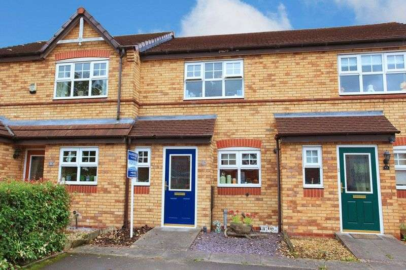 2 Bedrooms Terraced House for sale in Eastwood Drive, Donnington