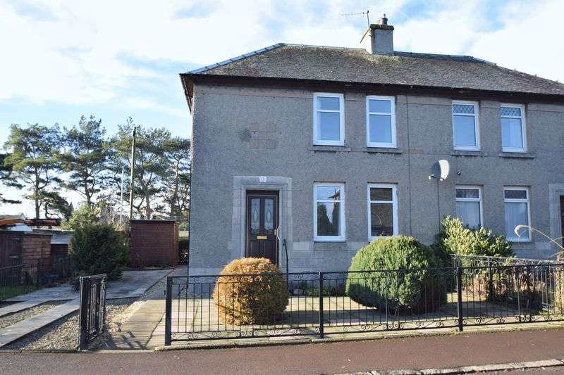 3 Bedrooms Semi Detached House for sale in 13 Northcrofts Road, Biggar