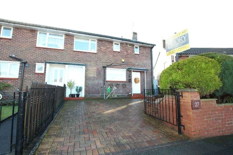 3 Bedrooms Semi Detached House for sale in Lynmouth Close, Biddulph
