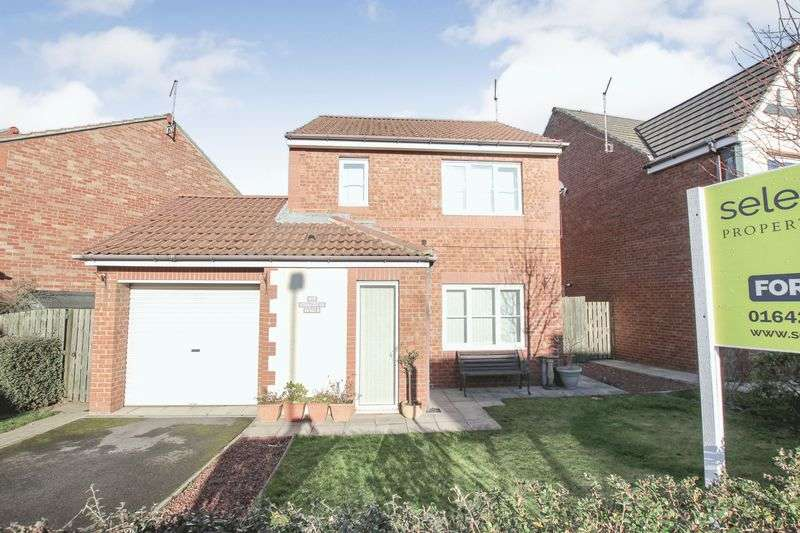 3 Bedrooms Detached House for sale in Southwold Close, Redcar