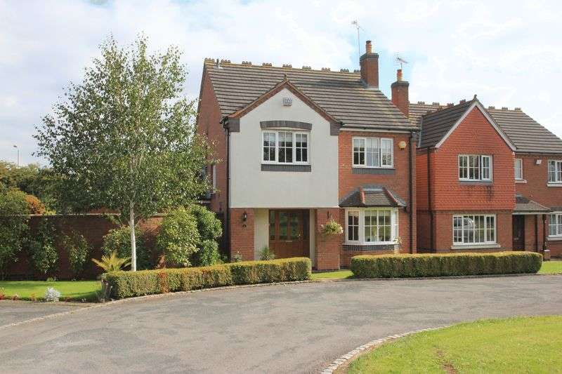 4 Bedrooms Detached House for sale in Church Close, Dunston, Stafford