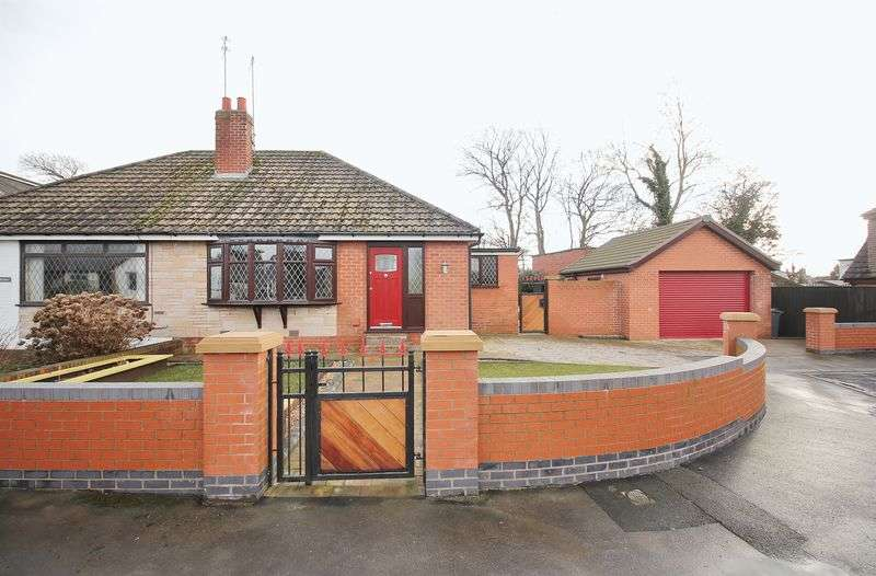 2 Bedrooms Semi Detached Bungalow for sale in 1 Ingol Grove, Hambleton, Poulton-Le-Fylde, FY6 9DN