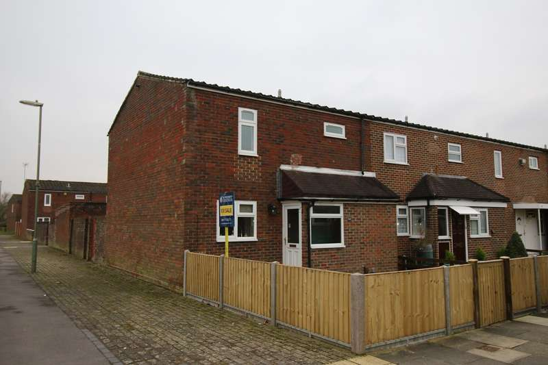 3 Bedrooms End Of Terrace House for sale in Malta Close, Basingstoke, RG24