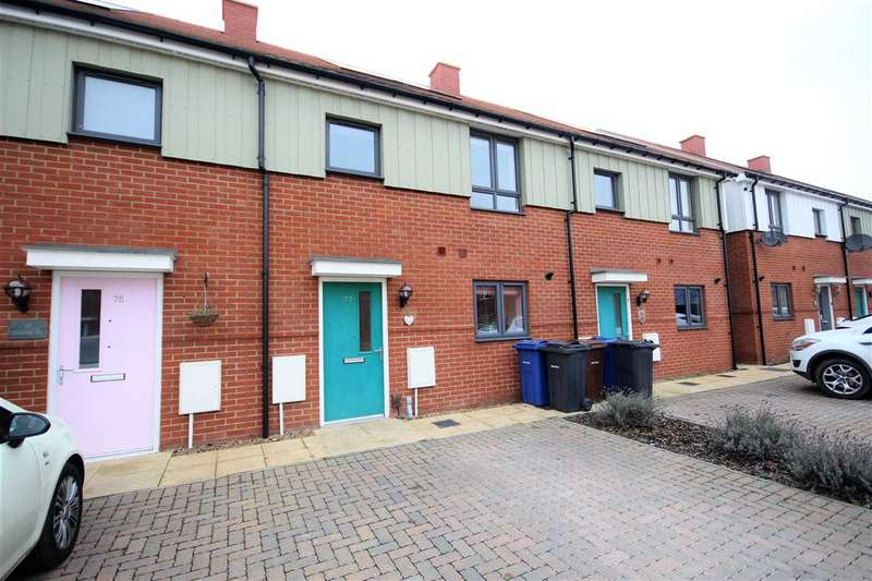 3 Bedrooms Terraced House for sale in Heathland Way
