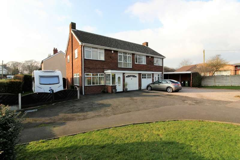 3 Bedrooms Semi Detached House for sale in Bloxwich Road North, Short Heath