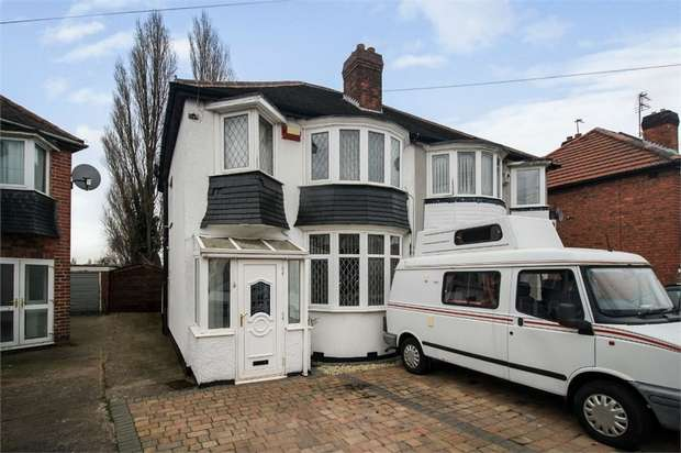 3 Bedrooms Semi Detached House for sale in Eldalade Way, Wednesbury, West Midlands