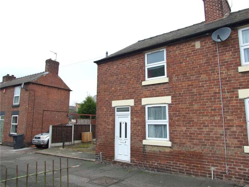 2 Bedrooms End Of Terrace House for sale in Gladstone Road, Spondon, Derby, Derbyshire, DE21