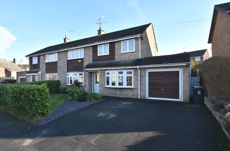 4 Bedrooms Semi Detached House for sale in Lea Close, Bishop's Stortford