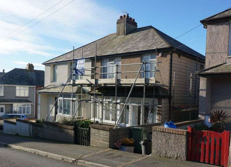 3 Bedrooms Semi Detached House for sale in Southfield Road, Bude