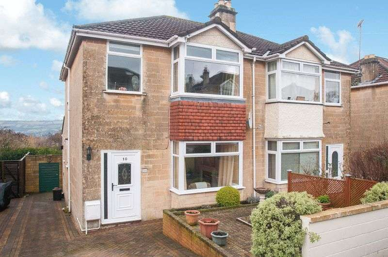 3 Bedrooms Semi Detached House for sale in Stirtingale Avenue, Bath
