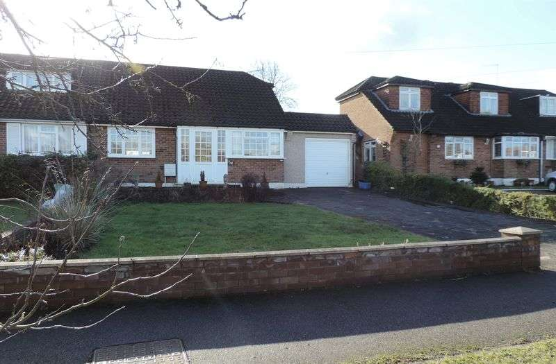 2 Bedrooms Semi Detached Bungalow for sale in The Greenway, Potters Bar