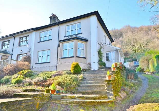 4 Bedrooms Semi Detached House for sale in Graddfa Villas, Llanbradach, CAERPHILLY