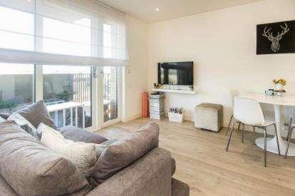 1 Bedroom Flat for sale in Dunnock House, 21 Moorhen Drive, London
