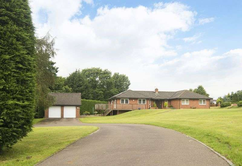4 Bedrooms Detached Bungalow for sale in Phocle Green