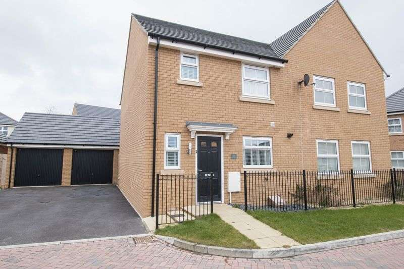 3 Bedrooms Semi Detached House for sale in Oak Leaze, Charlton Hayes
