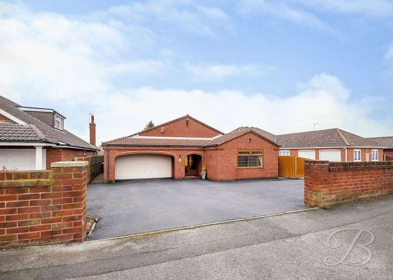 3 Bedrooms Detached Bungalow for sale in Briar Lane, Mansfield