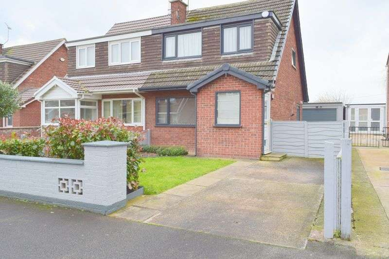 3 Bedrooms Semi Detached House for sale in Roman Drive, Chester
