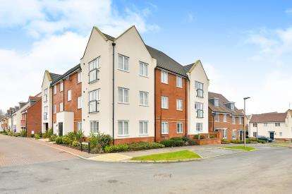 2 Bedrooms Flat for sale in Grenada Crescent, Newton Leys, Bletchley, Milton Keynes
