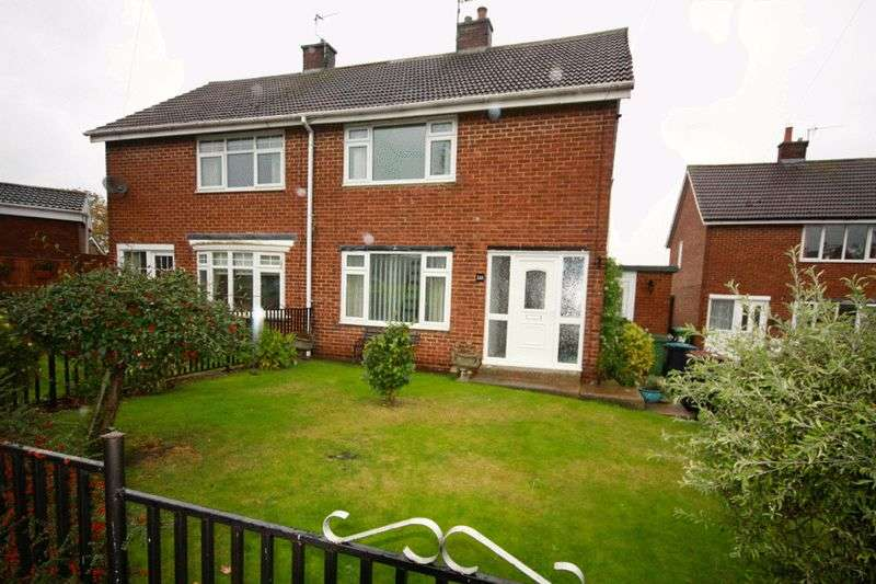 2 Bedrooms Semi Detached House for sale in Atkinson Gardens, Aycliffe Village