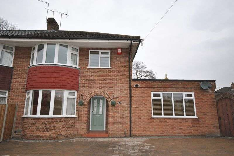3 Bedrooms Semi Detached House for sale in English Road, Old Catton, Norwich