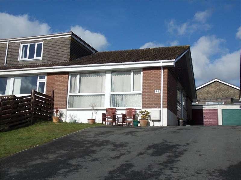 2 Bedrooms Semi Detached Bungalow for sale in Glen Park, Pensilva, Cornwall