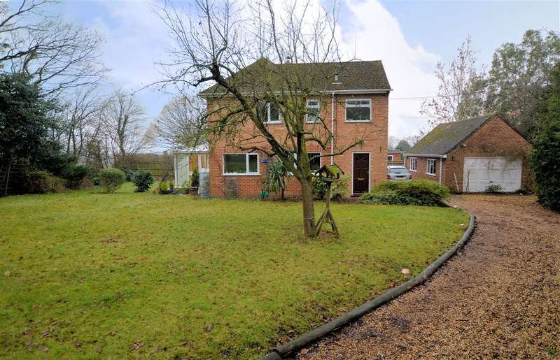4 Bedrooms Detached House for sale in Sulhamstead Hill, Sulhamstead, Reading, RG7