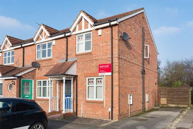 2 Bedrooms End Of Terrace House for sale in Blatchford Court, Clifton Moor, YORK