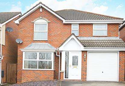 4 Bedrooms Detached House for sale in Limekiln Way, Barlborough, Chesterfield, Derbyshire