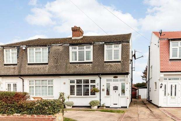 3 Bedrooms Semi Detached House for sale in Oxford Gardens, Denham, UB9