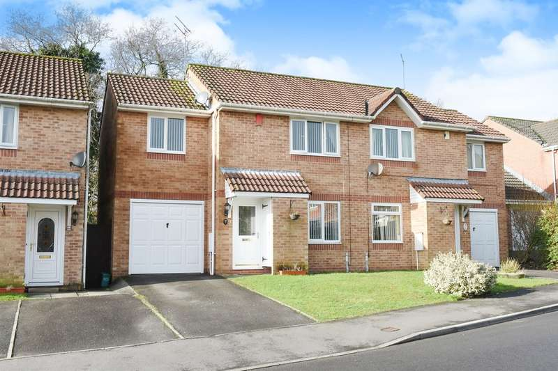 3 Bedrooms Semi Detached House for sale in Blackberry Drive, BARRY