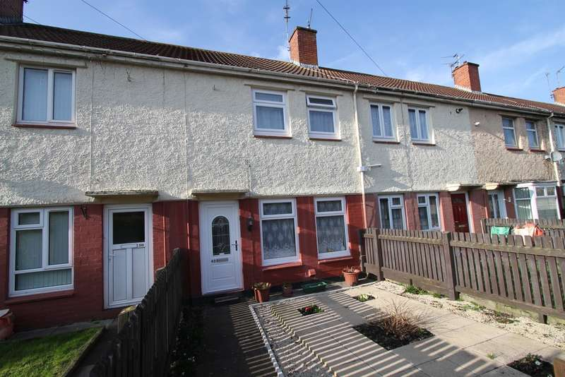 2 Bedrooms Terraced House for sale in Hampden Road, NEWPORT