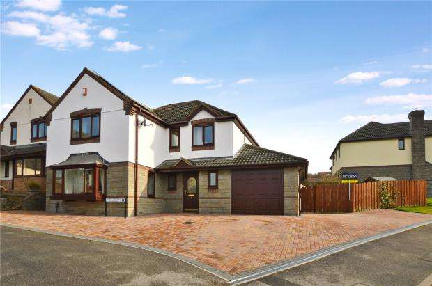 4 Bedrooms Detached House for sale in Foxglove Way, Latchbrook, Saltash, Cornwall