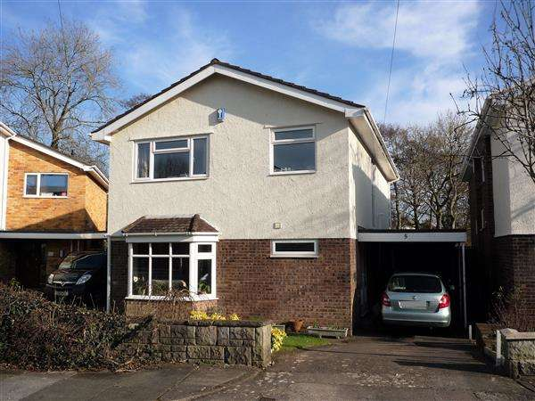 4 Bedrooms House for sale in Brooklyn Close, Rhiwbina, Cardiff