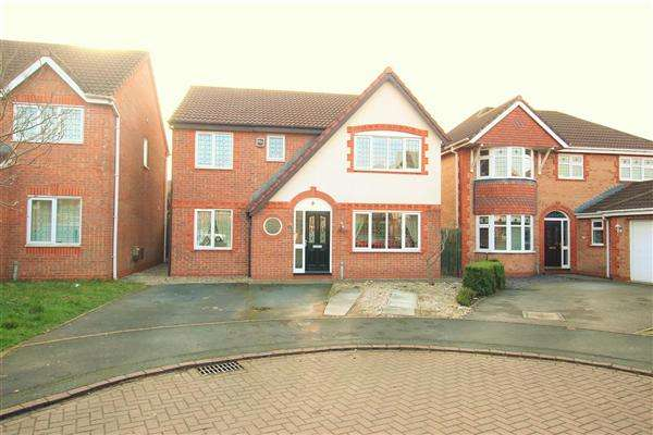 4 Bedrooms Detached House for sale in Allington Close, Walton-Le-Dale, Preston