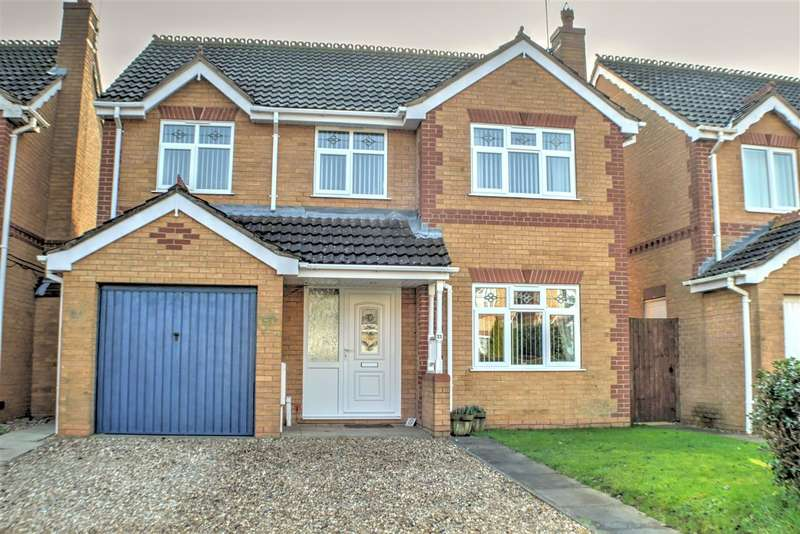 4 Bedrooms Detached House for sale in Stokes Drive, Holdingham