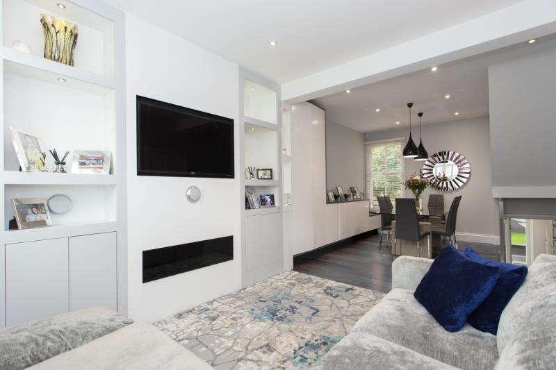 2 Bedrooms Maisonette Flat for sale in Rosebury Road, London, SW6