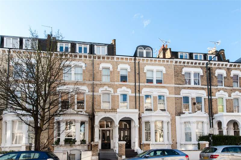 2 Bedrooms Maisonette Flat for sale in Sinclair Road, Brook Green, W14