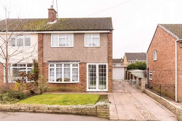 3 Bedrooms Semi Detached House for sale in Spring Road, Lichfield, Staffordshire