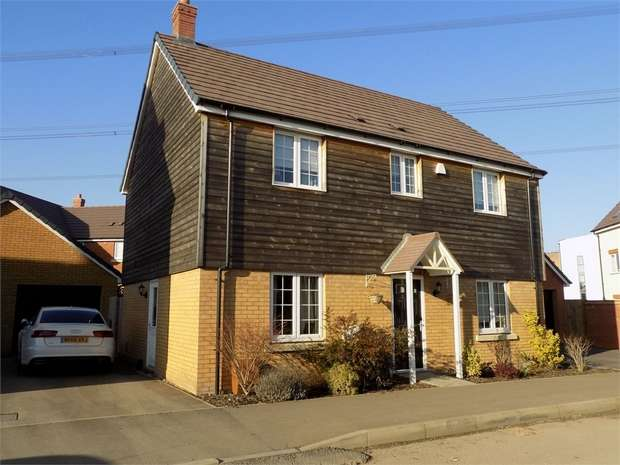 4 Bedrooms Detached House for sale in Theedway, Leighton Buzzard, Bedfordshire