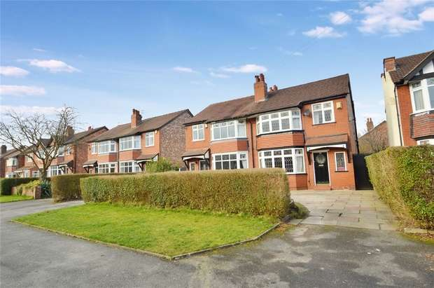 3 Bedrooms Semi Detached House for sale in Cromley Road, Woodsmoor, Stockport, Cheshire