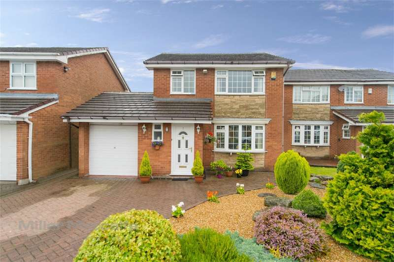 3 Bedrooms Detached House for sale in Saunton Avenue, Harwood, Bolton, Lancashire