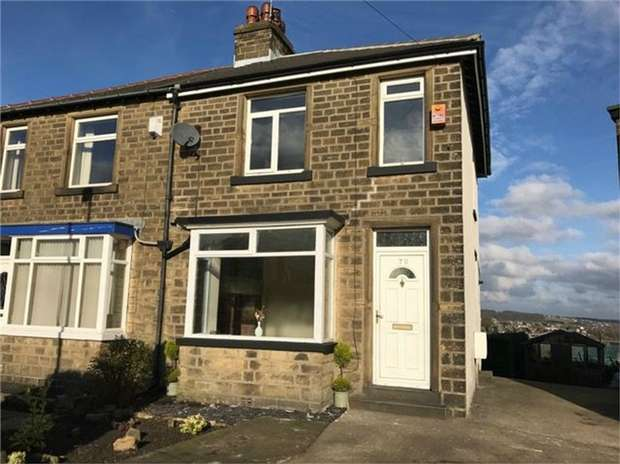 2 Bedrooms Semi Detached House for sale in Gramfield Road, HUDDERSFIELD, West Yorkshire