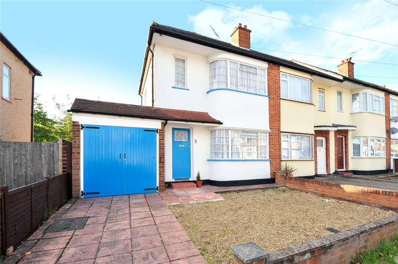 2 Bedrooms Semi Detached House for sale in Hatherleigh Road, Ruislip Manor, Middlesex, HA4
