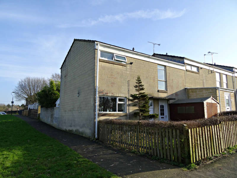 3 Bedrooms End Of Terrace House for sale in Meare Road, Foxhill, Bath