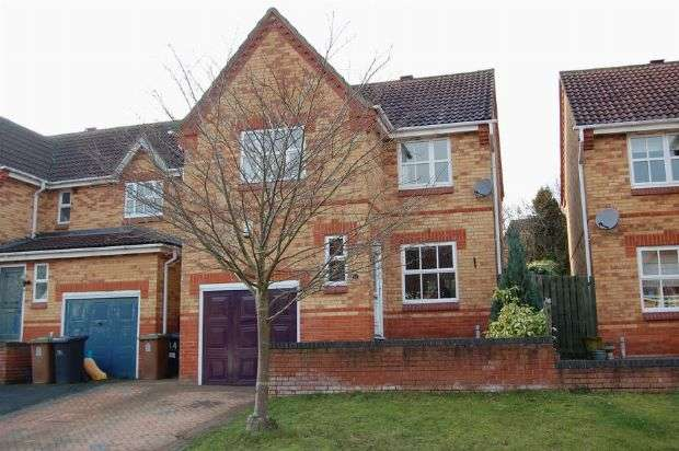 3 Bedrooms Detached House for sale in Larch Drive, Ashby Fields, Northampton NN11 0XJ