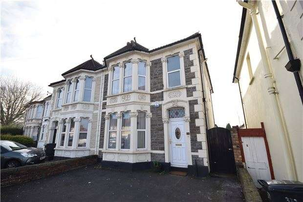 3 Bedrooms Semi Detached House for sale in Eton Villa. Lodge Causeway, Fishponds, BRISTOL, BS16 3PQ