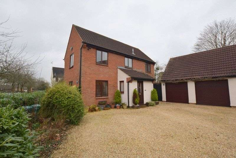4 Bedrooms Detached House for sale in Hadrians Drive, Bancroft, Milton Keynes